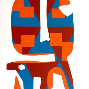 1978-ronald-king-screen-print-in-four-colors-millere