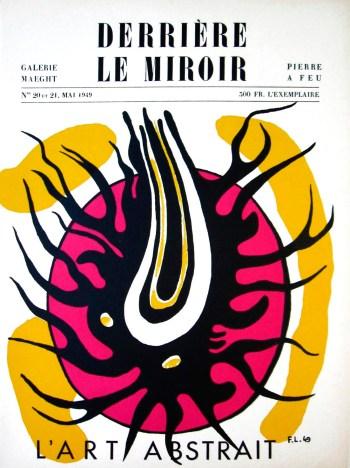 Book Derriere le Miroir 20-21 by Leger & Arp