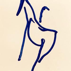 Barry Flanagan Lithograph N5-4, 1988