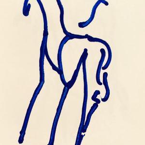 Barry Flanagan Lithograph N5-5, 1988