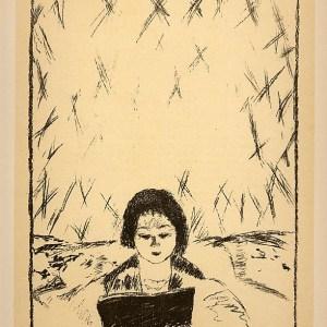 Bonnard Lithograph 145, Bulletin de a vie artistique