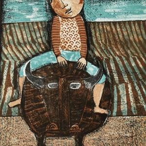 Graciela Boulanger Original Lithograph 7, Mourlot