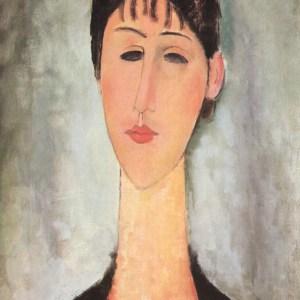 Modigliani Portrait of Mme zborowska, Ltd Edition