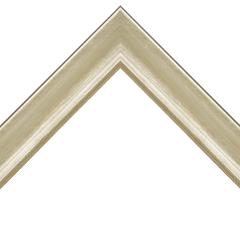 Silver- Silver Leaf Wood Frame