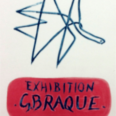 "Braque 9 'Exhibition G.Braque""'Art in posters"