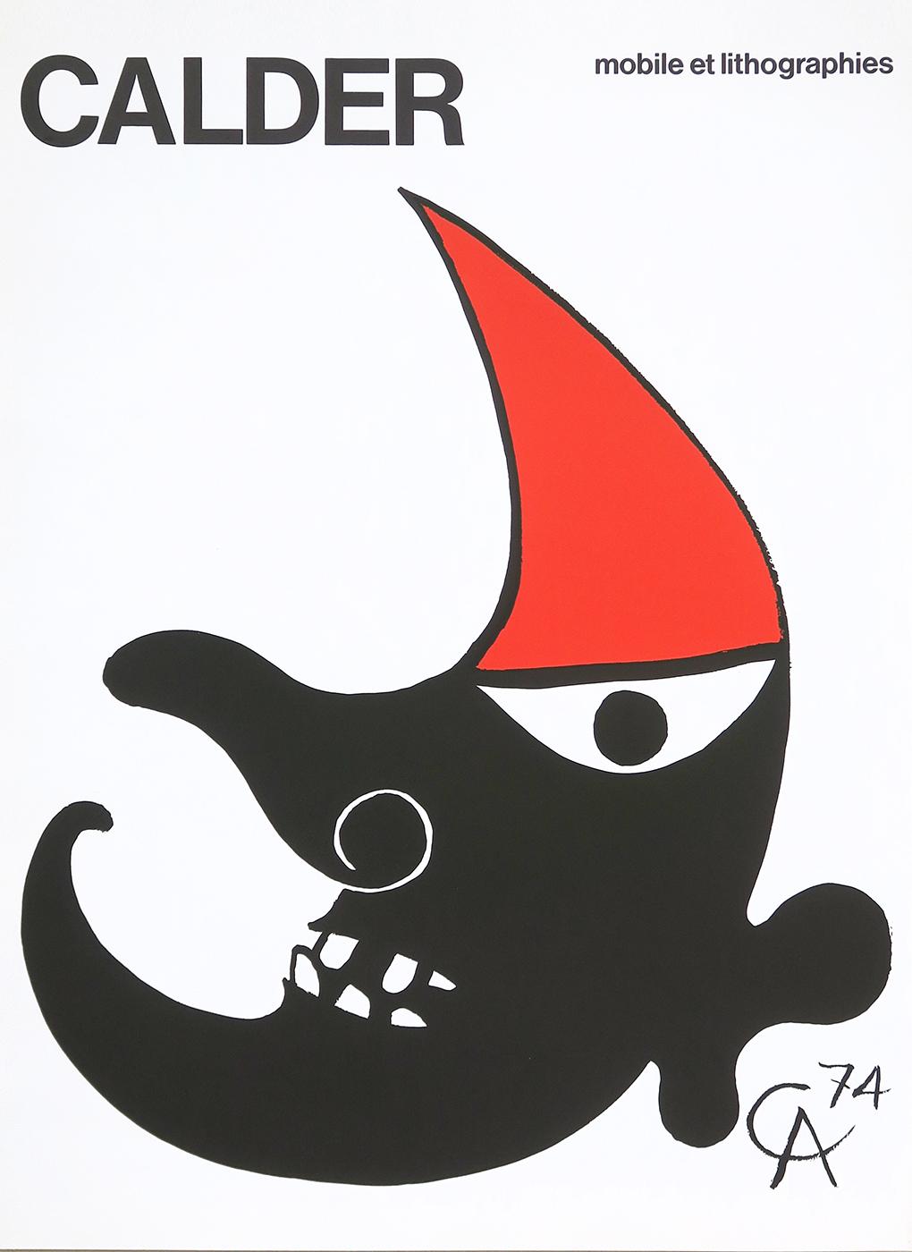 Alexander Calder, Poster Lithograph, C.N.A.C, Maeght publisher