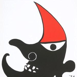Calder, Poster Lithograph, C.N.A.C, Maeght publisher