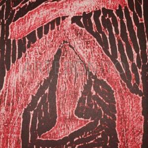 """Dominique Labauvie Original Lithograph """"N8-1"""" Noise 1988"""