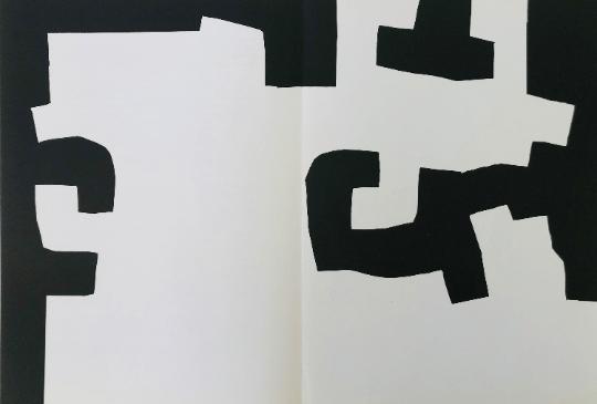 Eduardo Chillida, Original Lithograph, DM02204d, Derriere le miroir 1973