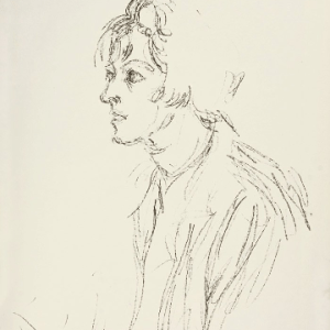 Alberto Giacometti, Original Lithograph DM03148, DLM 1964