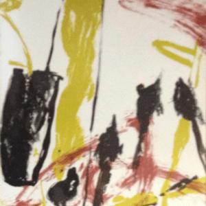 Isabelle Champion Metadier, Original Lithograph N7-2, Noise