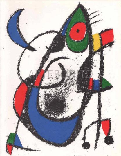 Joan Miro, Original Lithograph Vol 2-11