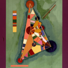 """Kandinsky Poster Lithograph """"Bauhaus"""""""