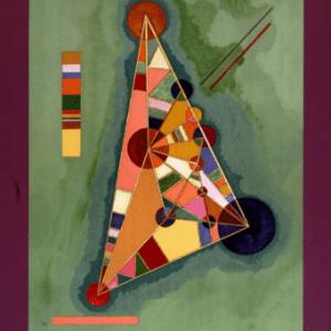 Wassily Kandinsky, Bauhaus, Poster Lithograph