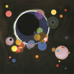 Kandinsky, Several Circles, Giclee Limited Edition
