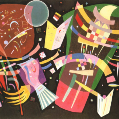 """Kandinsky """"composition 10"""" L.E Numbered Giclee"""