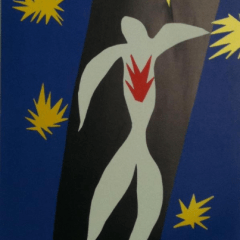 "Matisse Poster ""The fall of Icarus""1984"