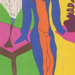 "Matisse Poster ""Zulma"" printed 1984"