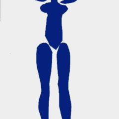 "Matisse lithograph,""Blue Nude debout"" 1983"