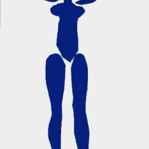 Matisse Lithograph, Blue Nude debout 1984