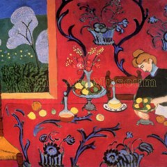 "Henri Matisse ""Harmony In Red – La desserte Rouge"" L.E Numbered Giclee"