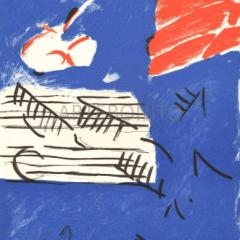 Pierre Nivollet Original Lithograph N10-4 Noise 1988