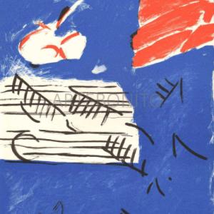 Pierre Nivollet, Original Lithograph N10-4, Noise 1988