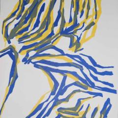 """Raoul Ubac Lithograph """"DM01142"""" DLM 1964"""