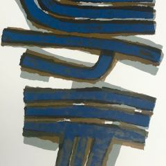 Raoul Ubac Original Lithograph DM01155,  DLM 1965, Abstract, Expressionism
