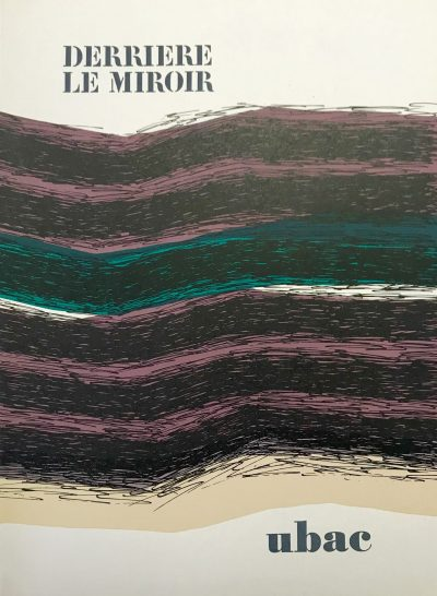 Raoul Ubac original lithograph DM01196 DLM 1972