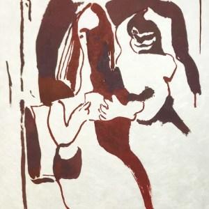 "Francisco Bores ""7"" Original Lithograph 1962 Mourlot"