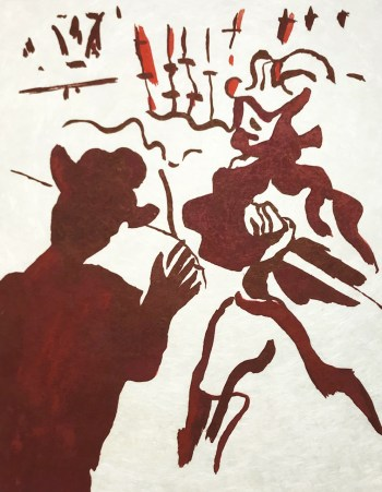 "Francisco Bores ""8"" Original Lithograph 1962 Mourlot"