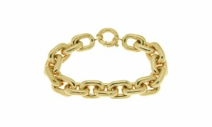 bracelet link yellow gold