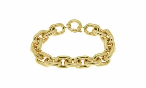 bracelet link yellow gold