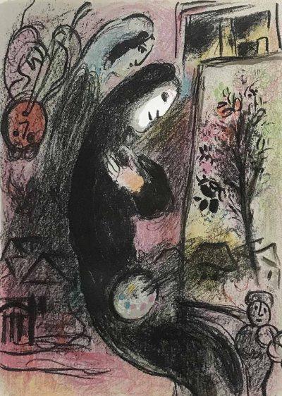 Chagall lithograph Inspiration