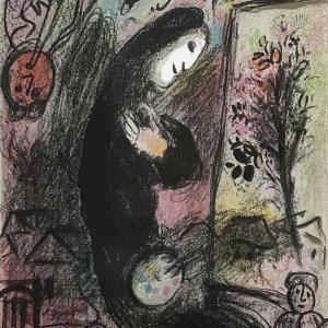 Chagall Original Lithograph vol 2, Inspiration 1963
