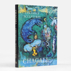 Book Chagall, The Ceramics & Sculptures 1972 contains 1 lithograph Vintage Print Mid-century Modern Art Wall Décor