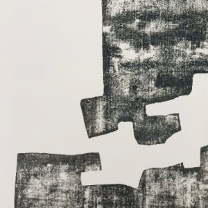 Eduardo Chillida woodcut from DLM