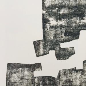 Eduardo Chillida Lithograph DM02174b, Derriere le miroir 1968