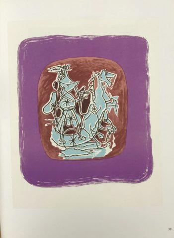 Georges Braque Lithograph p39, Helios 10 Mourlot