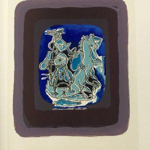 Georges Braque Lithograph p37, Helios 9 Mourlot