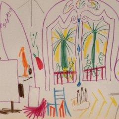 Pablo Picasso Sketchbook lithograph No 2  date 15/11/1955,  Cubism, Modern Art
