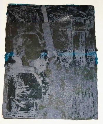 Paul Guiramand, Lithograph 1962, Untitled 16