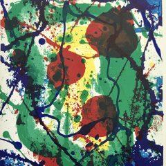 Book Noise 10, Sam Francis & multiple artists published 1988