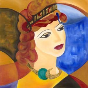 Grace Absi, Dreamer, Giclee Pencil Signed and Numbered