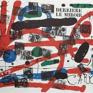 Book Derriere le Miroir 151, Miro 23 Lithographs 1965