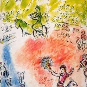 Marc Chagall, La Parade, Derriere le miroir 1981