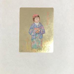 Edna Hibel, Tamiko, Pencil Signed Original Lithograph 1977