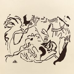 Wassily Kandinsky Woodcut for Klange 5,  1975 for  XX siecle, Abstract, Expressionism