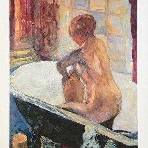 Bonnard DM5155, Nu a la cruche, Derriere le Miroir 1965